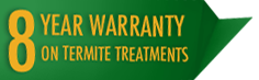 Termite Treatment Warranty logo